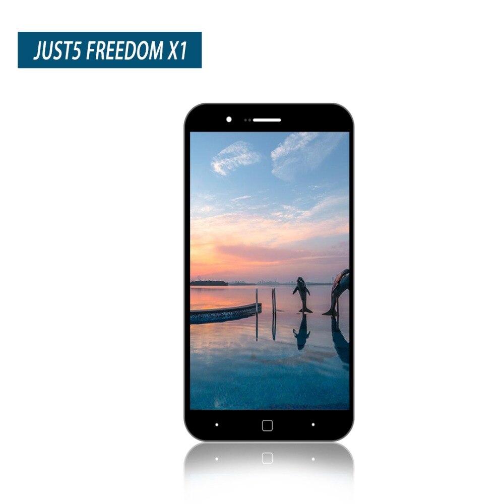 Original 1280*720 de 5,0 pulgadas para JUST5 libertad X1 pantalla LCD pantalla táctil digitalizador asamblea por solo 5 de la libertad x1 envío gratis