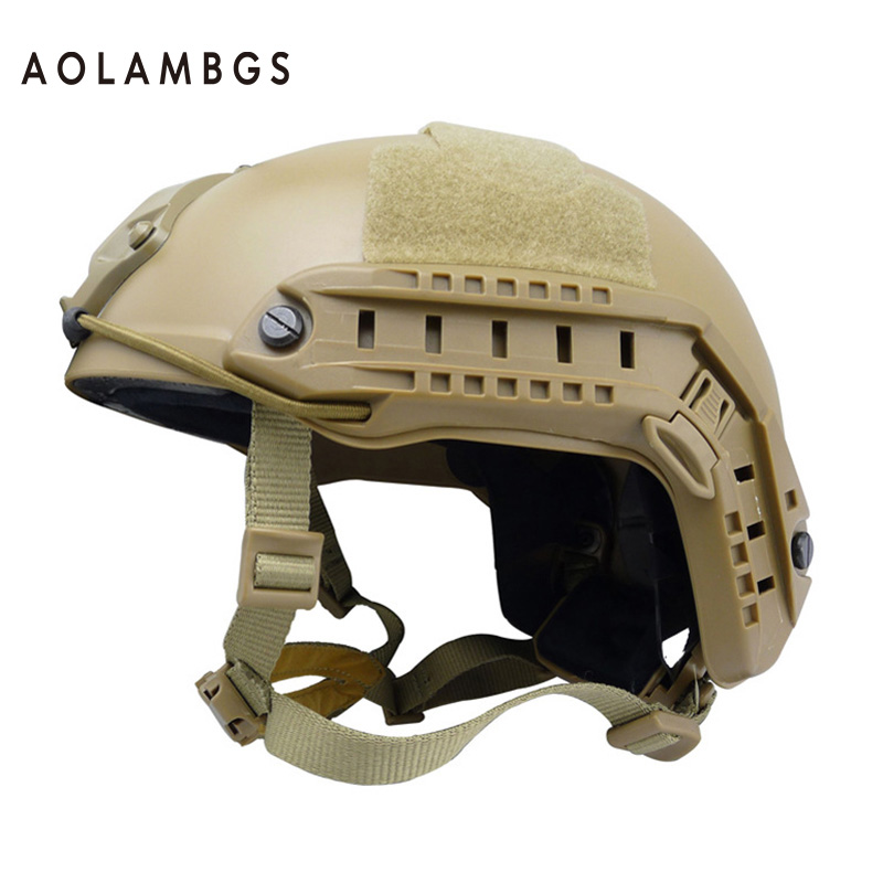 ФОТО Safety helmet lightweight anti-crash military tactical Fast Helmets tactical accessories movies prop war game airsoft paintball