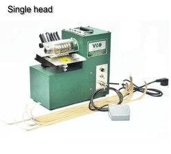 Automatyczne pojedyncze głowy skórzane maszyna do karbowania Cutter z stóp Panel