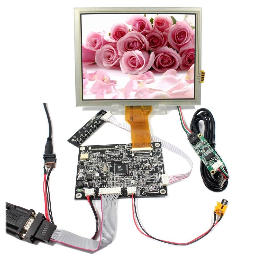 VGA AV LCD Controller Board KYV-N2 V1+8inch 800X600 EJ080NA-05B LCD With Touch Panel vga 2av revering driver board 8inch 800 600 lcd panel ej080na 05b at080tn52 page 3