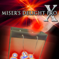 Misers Delight Pro X  (Blue Light) - Stage Magic Magic Tricks