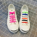 Lazy cordones de Silicona cordones Elasticos zapatillas Magnética cordón Elástico para las zapatillas de deporte scarpe Lacci colorati