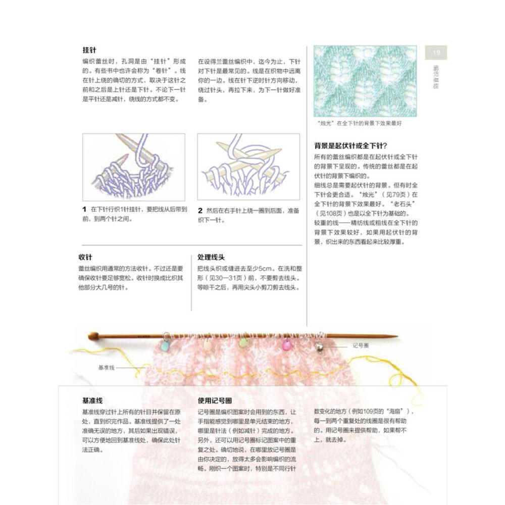 La magia de Shetland Encaje tejer chino tejer patrones libro en ...