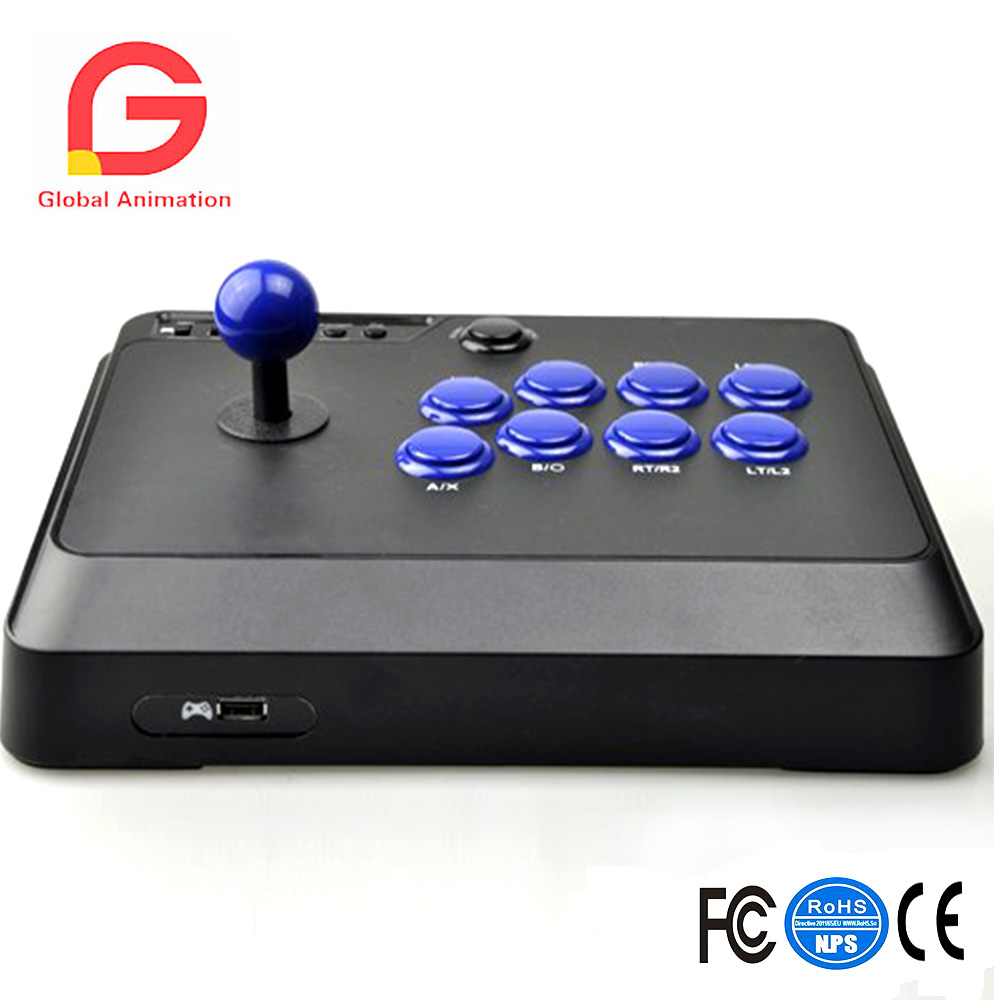 Arcade Fight Stick Joystick for PS4 PS3 XBOX ONE 360 PC