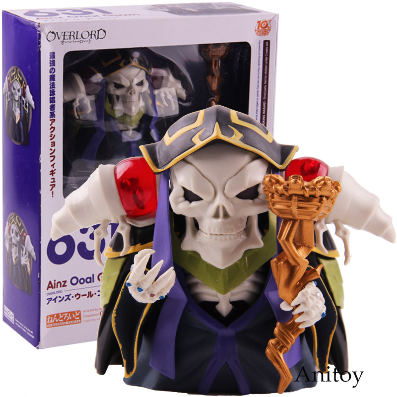 Overlord Ainz Ooal Gown Nendoroid 631 10th Anniversary PVC Good Smile Company Nendoroid Action Figure Collectible Model Toy touken ranbu online good smile face changable 511 mikazuki munechika nendoroid pvc action figure collectible model toy