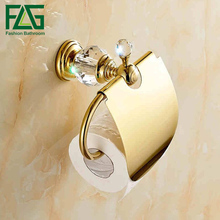 Peruzi bathroom luxury crystal gold plated paper towel rack hardware accessories European toilet rack tissue box freeshipping стоимость