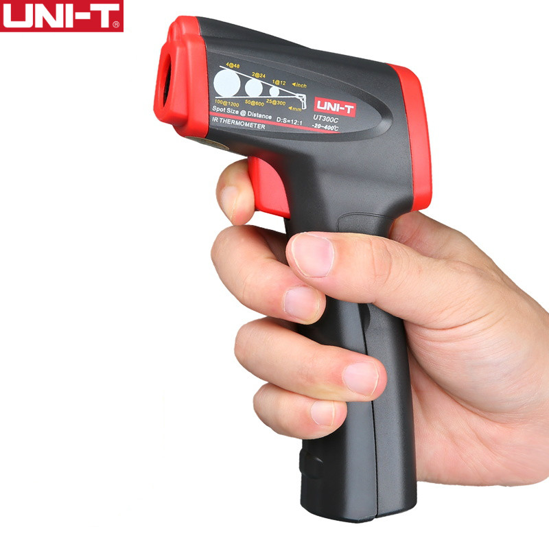 UNI T UT300C Infrared Thermometer measure temperature from a distance EASY to carry non contact fast test temperature