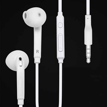 Hot Sale Earphone Headphones Super Bass Headset Hifi Earbuds with microphone for Samsung Galaxy S6 Edge i9800