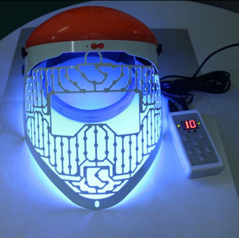 New Red Blue Green Color Led Light Therapy Skin Led Mask
