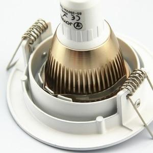 Image 3 - Free Shipping 2pcs Embeded GU10 / MR16 Spot Light Frame Led Fitting Round Aluminum LED Ceiling Spot Light Lighting Fixtures