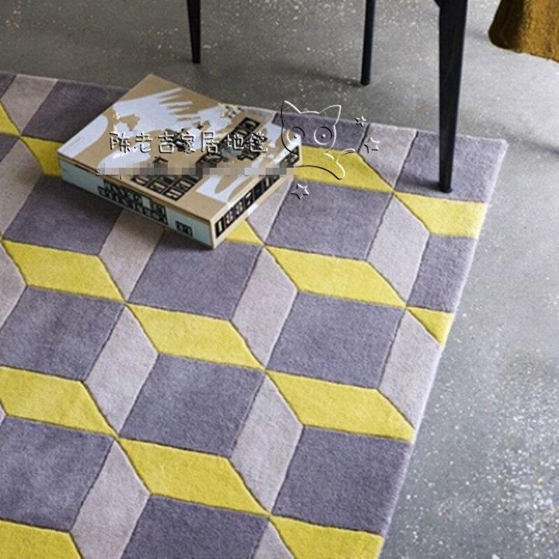 Новое поступление акриловые абстрактные коврики с геометрическими узорами и коврами Bape коврик в ванную ковер на пол/в гостиную