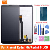 Original für Xiaomi Redmi 6A LCD Display Touch Screen mit Rahmen LCD Digitizer Redmi 6 Display Montage Reparatur Teile 10 touch