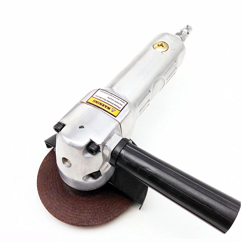 Multifunction Pneumatic Angle Grinder 4 Inch Air Grinding Tool Wind Sanding Polishing Waxing Cutting Machine 100mm