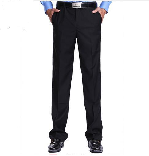 2016 autumn men's plaid dress pants for suit men business trousers eur men suit pants for wedding formal pants men