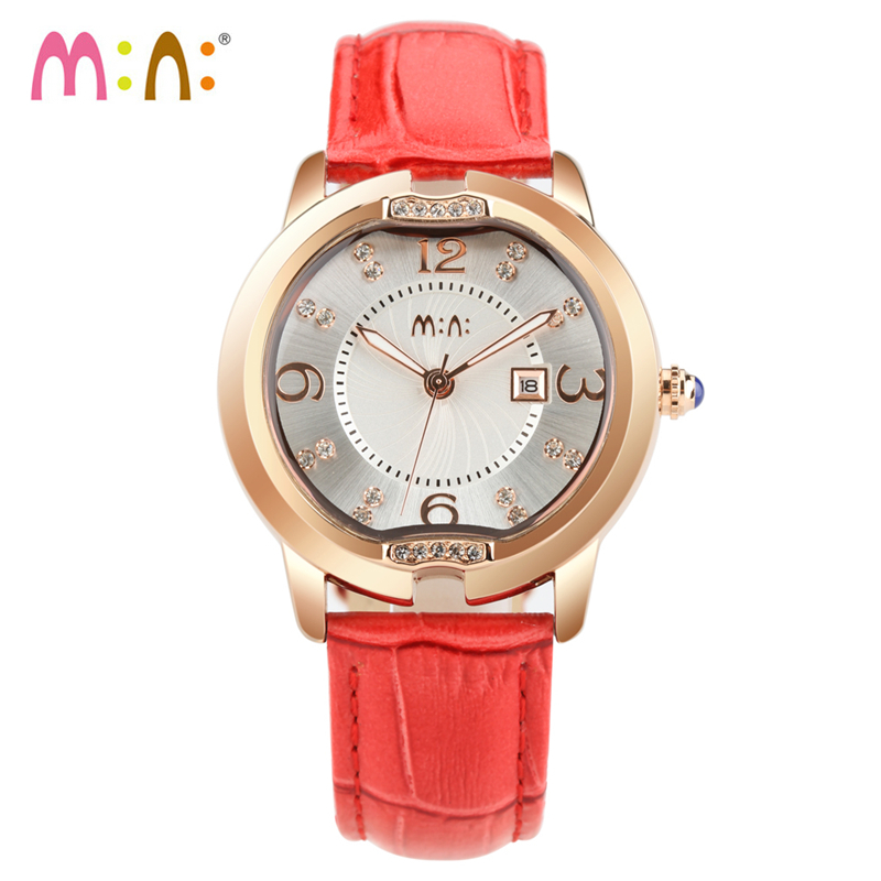 Luxury Brand Women Watches Waterproof Leather Bracelet Ladies Quartz Wrist Watch Gold Silver Clock Hours Woman 2017 Montre Femme newly design dress ladies watches women leather analog clock women hour quartz wrist watch montre femme saat erkekler hot sale