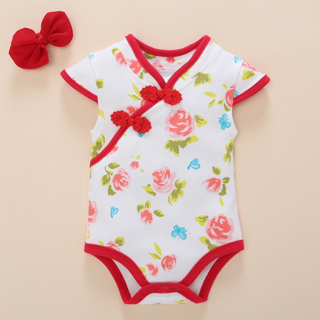 52d81c11e77a 2017 Baby Girl Clothes Summer New Born Infant Vest Wear Outfit Body Suit Jumpsuit  Girls 0