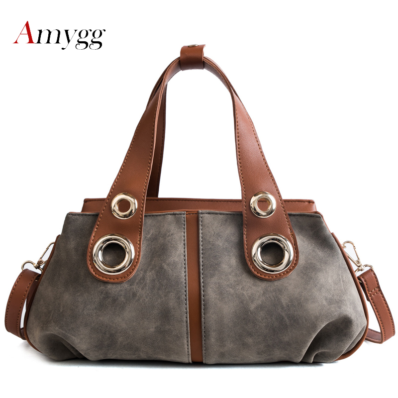 Women Bag Ladies Shoulder Bags Female Causal Tote Bags Handbags Women Famous Brand Designer High Quality PU Leather Sac A Main famous brand bag rivet pu leather shoulder bags designer handbags high quality vintage large casual tote bag sac a main