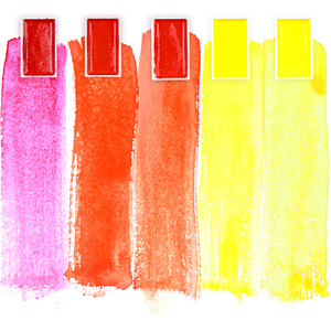 Image 3 - High Quality ZIG Kuretake Solid Watercolor Paint 6/12/18/24/36 Starry Pearl Gem Paint Pigment Drawing Sketch Art Supplies