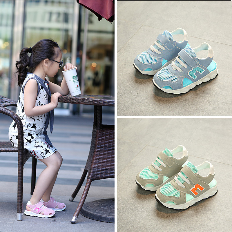 2018 hot sales Lovely European baby casual shoes summer cute high quality design baby sandals hot sales girls boys shoes