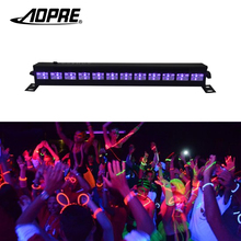 Aopre UV Stage Light Violet Led Bar Laser Projection Lighting Party Club Disco Light For Christmas Indoor Stage Effect Lights(China)