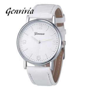 GENVIVIA Women Watch Quartz Unisex Fashion Luxury Brand Business Analog