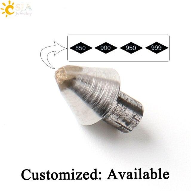 CSJA Custom Platinum Jewellery 850 900 950 999 Stamp Tool Small Size