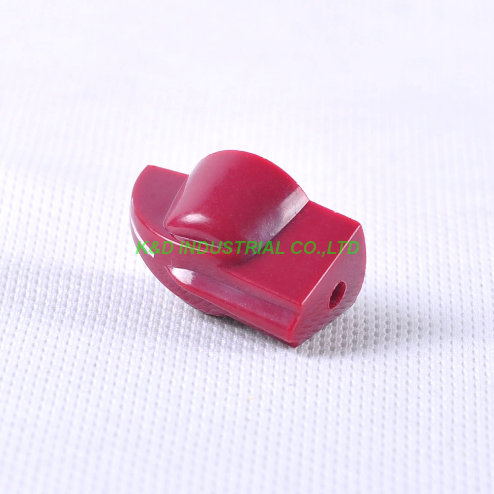 10pcs Colorful Rotary Control Dark Red Vintage Plastic Knob 31x16mm fr Potentiometer 6 35mm Shaft in Electrical Plug from Consumer Electronics