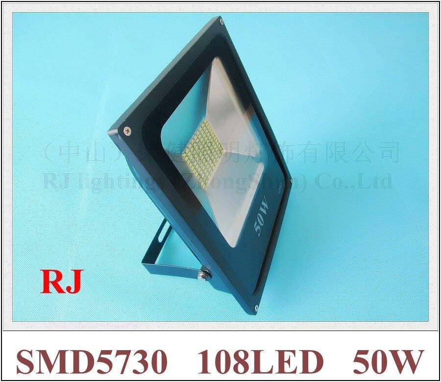 SMD 5730 LED flood light floodlight spot light lamp outdoor 50W SMD5730 108LED (108*0.5W) AC85V-265V waterproof IP65 CE