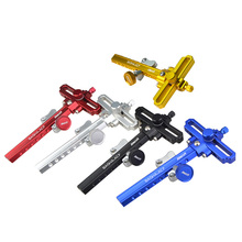DECUT 1 Set Aluminum Alloy Bow Sight Steady 5 Colors Compound Hunting Accessories Outdoor Equipment