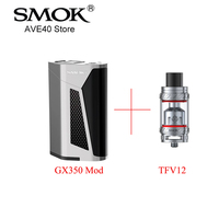 100 Original Electronic Cigarettes SMOK GX350 TFV12 Tank Best Combination For Big Power 350w Power 6ml