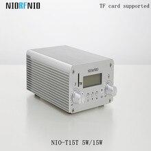 Профессиональный Высокое качество NIO-T15T 15 Вт беспроводной ТВ передатчики и приемники аудио вещания