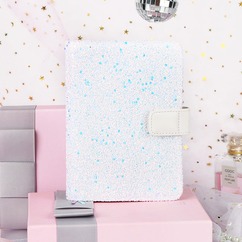 2018 Yiwi Creative A6 Hobo Planner Blue Diamond Diary Hobonichi Snap Notebook School Supply 2018 yiwi a7 creative composition book planner weekly dairy hobo clothes cover blue b notebook