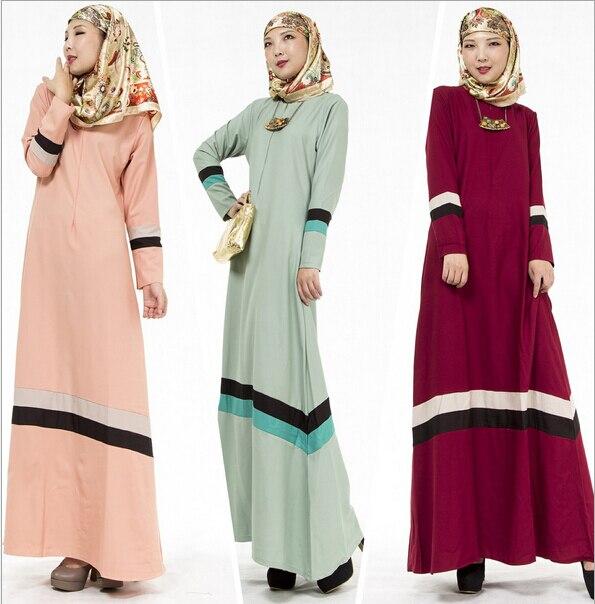 Мусульманской абая дубай платье для женщин моды элегантные Кружева С Длинным Рукавом Платье Макси Мусульманских Малайский Исламской Длинное Платье WL2100