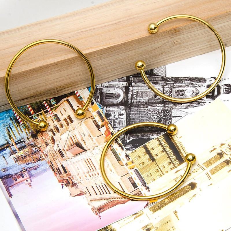 BS001-13 DIY bangle bracelets for women stainless steel
