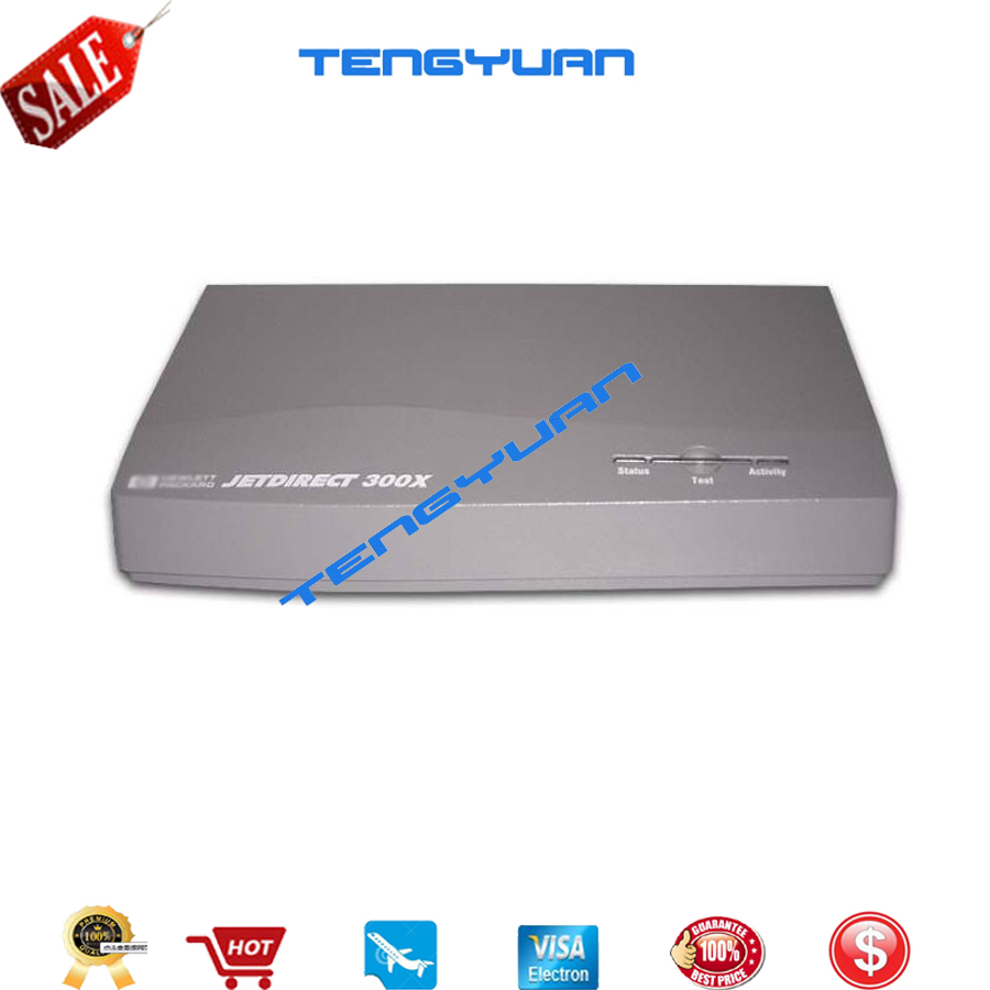 все цены на Free shipping 100% new original for HP300X Jet Direct Card good work J3263A on sale