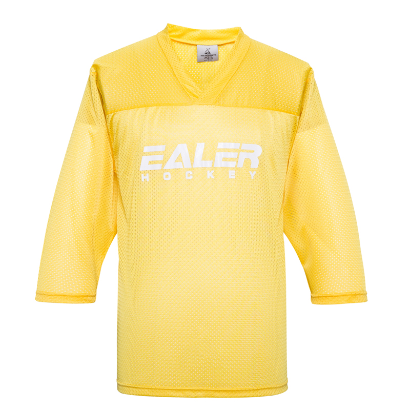 low priced b983d 6ac35 US $10.01 28% OFF|EALER free shipping cheap high quality yellow mesh ice  hockey practice jersey s in stock usa-in Hockey Jerseys from Sports & ...