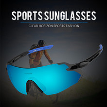 BATFOX Polarized Sports Men Sunglasses MTB Road Cycling Glas