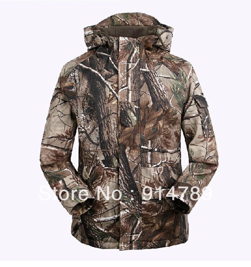FREE KNIGHT TACTICAL REALTREE CAMO CAMOUFLAGE G8 WINDBREAKER COAT IN SIZES -33601