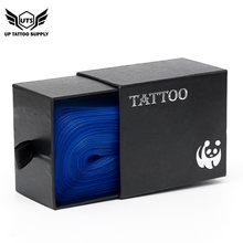 100Pcs/Box Blue Tattoo Clip Cord Sleeves Bags Supply Disposable Covers for Machine Professional Accessory