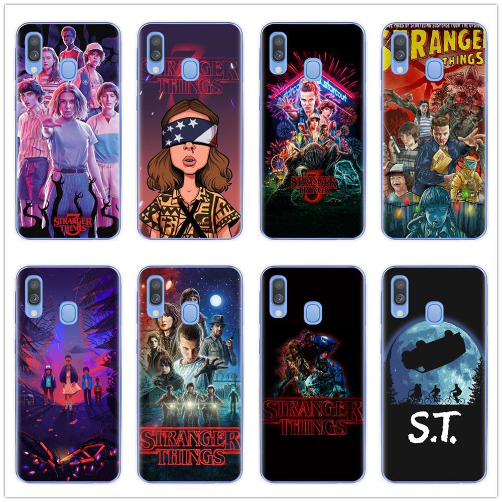 Stranger Things Season 3 DEMOGORGON HUNTER Soft TPU Phone Case Cover For Samsung A7 A9 A6 A8 Plus 2018 A10 A20 A30 A40 A50 A70(China)