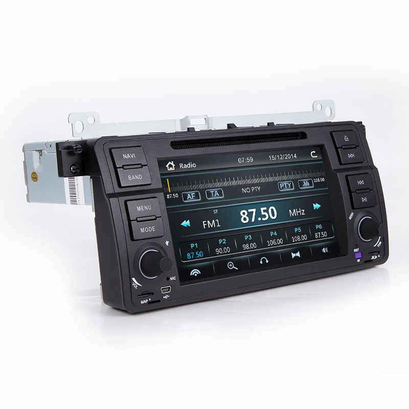 Josmile Máy Nghe Nhạc Đa Phương Tiện 1 DIN Xe Đài Phát Thanh Cho Xe BMW E46 M3 Rover 75 Coupe Dẫn Đường GPS DVD 318/320/325/330 Lưu Diễn Hatchback
