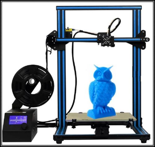CTC A-10S 3D Printer Desktop DIY Kit 0.4mm Nozzle with Dual Z-axis FREE PLA 300*300*400MM