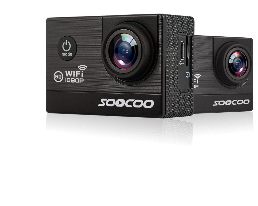 [Genuine] SOOCOO C20 WIFI 1080P Full HD 12MP Action Camera Sports DV Waterproof 170 Wide Angle