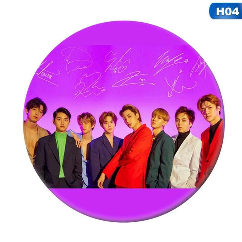 Koreański KPOP EXO 5th Album pakować miłość strzał broszka Pin odznaka akcesoria na ubrania kapelusz plecak dekoracji