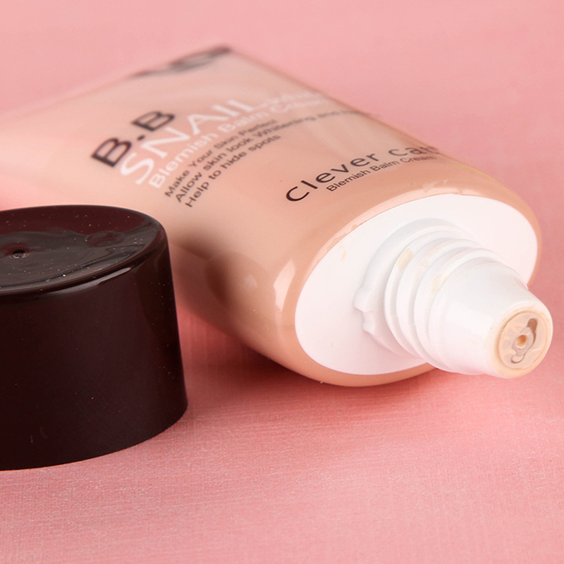 CLEVER CAT Brand Snails Sunscreen BB & CC Cream Base Perfect Concealer Primer Cover Skin Blemish Foundation Face Makeup