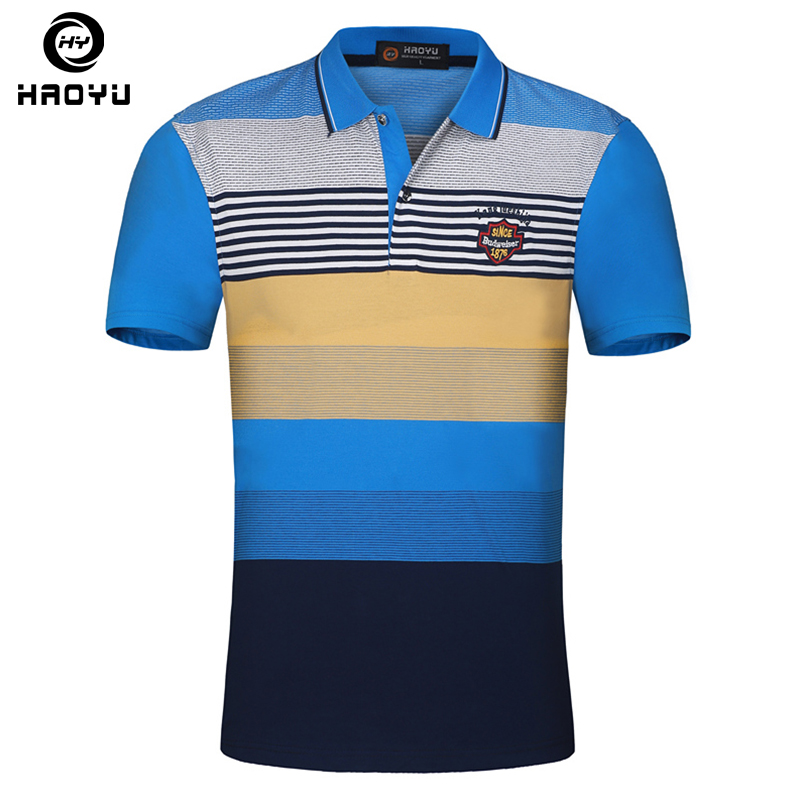 Cotton luxury mens top designer homme hombre polo shirt for Luxury mens t shirts