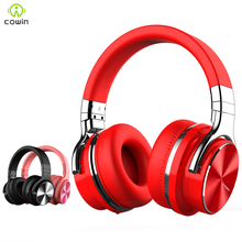 Cowin E7PRO Active Noise Cancelling Headphones Wireless Bluetooth Headset HiFi Stereo Headphones with Microphone цена