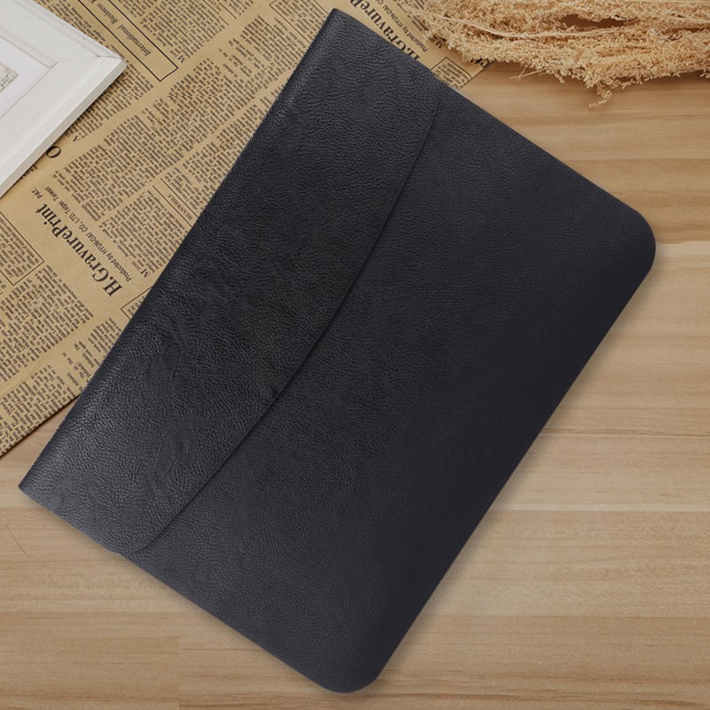 PU Leather Laptop Sleeve <font><b>Case</b></font> For Macbook Air Retina 11 12 13 New Pro 13.3 <font><b>15</b></font> 16 2018 2019 <font><b>Notebook</b></font> Bag For <font><b>Xiaomi</b></font> <font><b>15</b></font>.6 Cover image