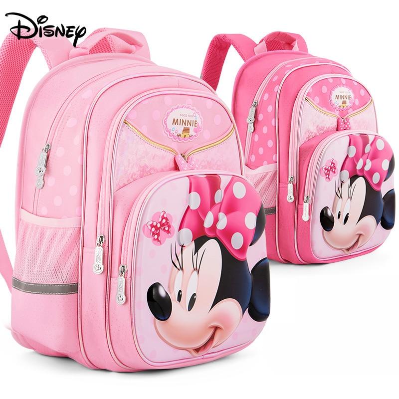 Image 2 - 디즈니 정형 외과 패션 만화 미니 배낭 Mochila Escolar 어린이 백팩 십대 소녀를위한 초등 어린이 Schoolbag-에서학교가방부터 수화물 & 가방 의