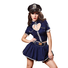 Halloween Ladies Role Playing Cop Outfit Girls Erotic Performance Cosplay Uniforms 2019 Sexy Policewomen Dress Costume kids cosplay star wars the force awakens imperial stormtrooper role playing costumes uniforms performance performance clothing